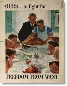 wwii-rockwell-freedom-want-poster