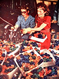 Blown Glass Christmas Balls